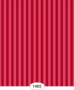 Wallpaper - Parisian - Stripe - Red
