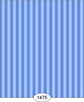 Wallpaper - Parisian - Stripe - Baby Blue