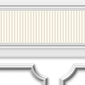 Wainscoting Strips Scallop