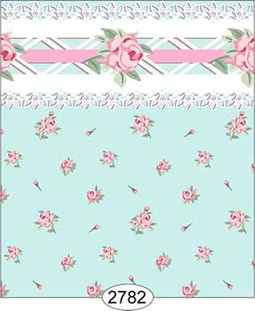Wallpaper - Daniella Floral Toss - Blue