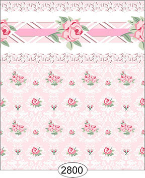 Wallpaper - Daniella Floral Damask - Pink