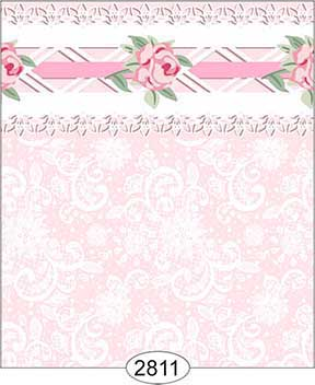 Wallpaper - Daniella Lace - Pink