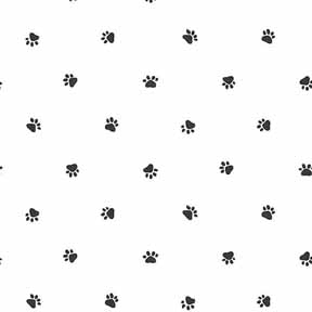 Dot itsy bitsy mini wholesale retail dollhouse wallpaper accessories - Paw print wall border ...