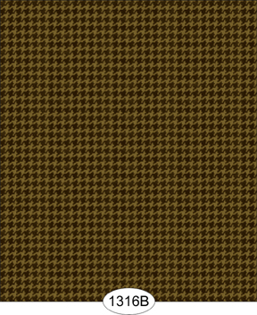 Wallpaper - Hounds Tooth Brown