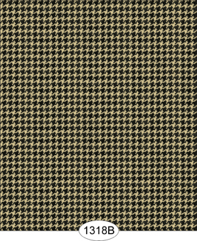 Wallpaper - Hounds Tooth Black