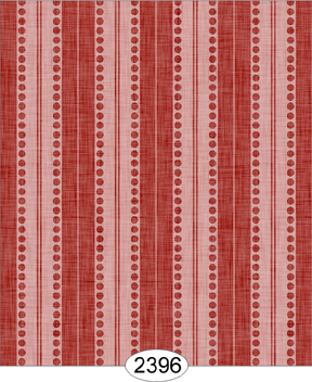 Wallpaper - Annabelle Stripe Red