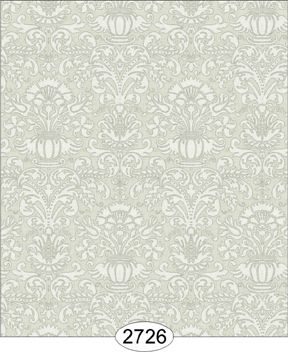 Wallpaper - Annabelle Mini Damask Green Olive