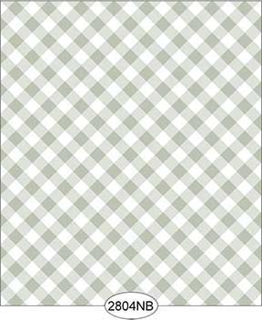 Wallpaper - Daniella Plaid - Olive No Border