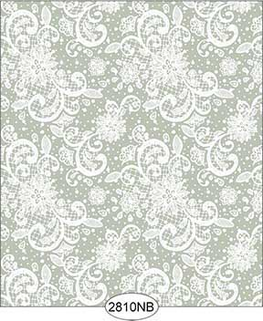 Wallpaper - Daniella Lace - Olive No Border